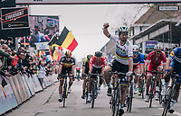 World Champion Peter Sagan (SVK/Bora-Hansgrohe) wins the race for a 3rd time in his career<br /> <br /> 81st Gent-Wevelgem in Flanders Fields (1.UWT)<br /> Deinze > Wevelgem (251km)