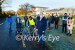 Killorglin residents campaigning for a footpath and cycling lane on the road in to Killorglin from Killarney. Front: l to r: Billy and Caroline Mahony with Cllr: Michael Cahill: Back l to r: Jeffery Mahony, Jim Burns, Eileen and Eamon Crowley, Fergus Foley, Mary and Diarmuid O'Sullivan, Oscar O'Reilly, John and Ann Marie O'Donnell.