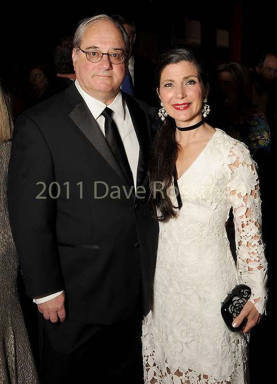 Cynthia and Anthony Petrello at the Ole! A Night in Old Mexico Gala at the Museum of Natural Science Saturday March 05,2016.(Dave Rossman Photo)