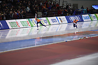 SPEEDSKATING: SALT LAKE CITY: Utah Olympic Oval, 10-03-2019, ISU World Cup Finals, 1500m Men, Thomas Krol (NED), Kjeld Nuis (NED), ©Martin de Jong