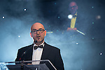 © Joel Goodman - 07973 332324 . 03/03/2016 . Manchester , UK . Paul O'halloran speaking at the ceremony . The Manchester Legal Awards from the Midland Hotel . Photo credit : Joel Goodman