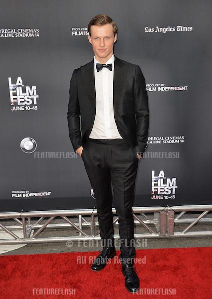 """Connor Weil at the LA Film Festival premiere of MTV's """"Scream"""" at the Regal Cinema LA Live. <br /> June 14, 2015  Los Angeles, CA<br /> Picture: Paul Smith / Featureflash"""