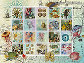 ,LANDSCAPES, LANDSCHAFTEN, PAISAJES, LornaFinchley, paintings+++++,USHCFIN0140A,#L#, EVERYDAY ,vintage,stamps,puzzle,puzzles