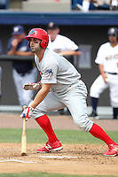 Clearwater Threshers outfielder Brandon Tripp #11 during a game against the Brevard County Manatees at Space Coast Stadium on April 30, 2012 in Viera, Florida.  Clearwater defeated Brevard County 5-1.  (Mike Janes/Four Seam Images)