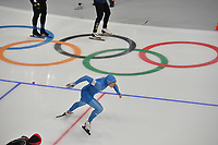 OLYMPIC GAMES: PYEONGCHANG: 19-02-2018, Gangneung Oval, Long Track, 500m Men, Mirko Giacomo Nenzi (ITA), ©photo Martin de Jong