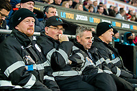First responders<br /> Re: Behind the Scenes Photographs at the Liberty Stadium ahead of and during the Premier League match between Swansea City and Bournemouth at the Liberty Stadium, Swansea, Wales, UK. Saturday 25 November 2017