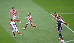 22.06.2021 Croatia v Scotland: Nikola Vlasic scores and celebrates