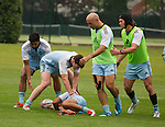 Training, 14 May 2015. London, England. Photo: Marc Weakley
