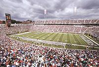 Scott stadium is the home of the Virginia Cavaliers football team in Charlottesville, Va.