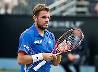 18-06-13, Netherlands, Rosmalen,  Autotron, Tennis, Topshelf Open 2013, , Stanislas Wawrinka<br /> <br /> Photo: Henk Koster