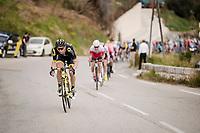 Anthony Turgis (FRA/Direct Energie)<br /> <br /> Stage 7: Nice to Col de Turini (181km)<br /> 77th Paris - Nice 2019 (2.UWT)<br /> <br /> ©kramon