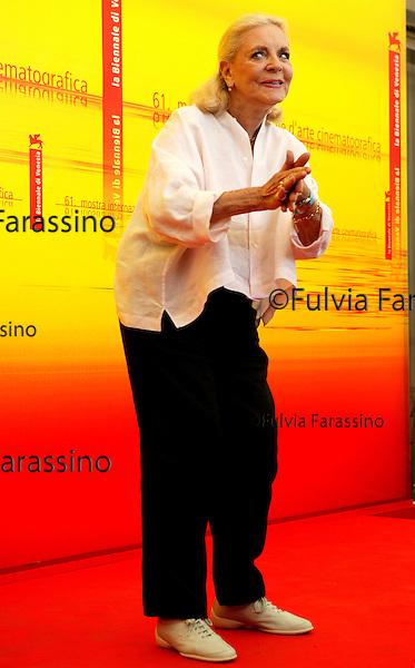 Festival di Venezia 2004<br /> Bacall Lauren