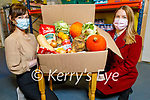 Courtney Sheehy with Rose O'Reilly as Foodshare Kerry finished their 5 week online cooking course.