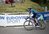 Enric Mas (ESP/Movistar) up Luz Ardiden<br /> <br /> Stage 18 from Pau to Luz Ardiden (130km)<br /> 108th Tour de France 2021 (2.UWT)<br /> <br /> ©kramon