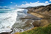 Muriwai Beach near Auckland - Northland, New Zealand