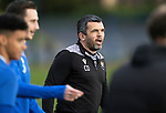 St Johnstone Training….21.10.20     <br />Manager Callum Davidson pictured during training at McDiarmid Park ahead of Saturday's game against Dundee United.<br />Picture by Graeme Hart.<br />Copyright Perthshire Picture Agency<br />Tel: 01738 623350  Mobile: 07990 594431