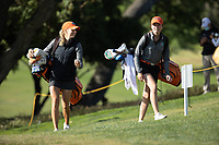 STANFORD, CA - MAY 10: Annabell Fuller, Marina Escobar Domingo at Stanford Golf Course on May 10, 2021 in Stanford, California.