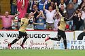 Kevin Lisbie of Leyton Orient celebrates scoring the winner<br />  - Stevenage v Leyton Orient - Sky Bet League 1 - Lamex Stadium, Stevenage - 17th August, 2013<br />  © Kevin Coleman 2013