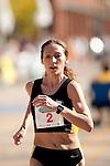 Quad Cities Marathon 2009 number two woman's finisher was last year's winner, Nadezhda Tuptova.