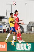 2010 Nike International Friendlies Development Academy Winter Showcase. U17 Brazil and Turkey played to a 0-0 draw at Reach 11 Soccer Complex on Wednesday December 1, 2010.