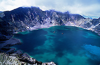 Images from the Book Journey Through Colour and Time,Mt.Pinatubo Crater,Volcano
