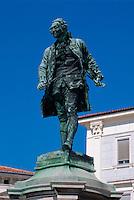 Slowenien,  Piran, Tartini-Denkmal