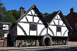 Great Britain, England, Hampshire, Winchester: The Old Chesil Rectory, built in 1450, Winchesters oldest building now houses The Chesil Rectory Restaurant