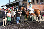 June 28, 2014: Riposte (GB) with Joel Rosario wins the Grade II New York Stakes for fillies & mares, 4-year old & up, going 1 1/4 mile on the inner turf at Belmont Park. Trainer: Bill Mott. Owner: Juddmonte Farms. Sue Kawczynski/ESW/CSM