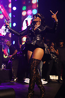 NEW YORK, NY- SEPTEMBER 14: Ashanti pictured at Fat Joe And Ja Rule Verzuz Battle at The Hulu Theater at Madison Square Garden in New York City on September 14, 2021. Credit: Walik Goshorn/MediaPunch