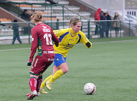 Dames Zulte - Waregem - STVV Sint Truidense VV : Kristien Elsen.foto DIRK VUYLSTEKE / Vrouwenteam.be