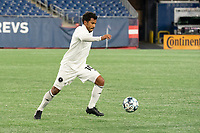 FOXBOROUGH, MA - OCTOBER 09: Eduardo Sosa #10 of Fort Lauderdale CF during a game between Fort Lauderdale CF and New England Revolution II at Gillette Stadium on October 09, 2020 in Foxborough, Massachusetts.