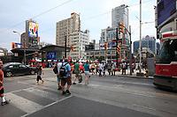 Toronto (ON) CANADA - July 2012 - Dundas square beside  EATON CENTRE