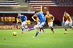 Motherwell v St Johnstone…20.02.21   Fir Park   SPFL<br />Guy Melamed scores a penalty to make it 3-3<br />Picture by Graeme Hart.<br />Copyright Perthshire Picture Agency<br />Tel: 01738 623350  Mobile: 07990 594431