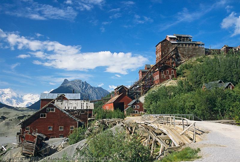 Kennicottt copper mine, Wrangell St. Elias National Park, Alaska.