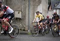 yellow jersey / GC leader Tadej Pogacar (SVN/UAE-Emirates) up the Col de Portet-d'Aspet<br /> <br /> Stage 16 from El Pas de la Casa to Saint-Gaudens (169km)<br /> 108th Tour de France 2021 (2.UWT)<br /> <br /> ©kramon
