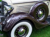 Restored 1934 Chrysler sedan. Oregon