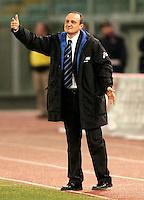 Roma 12/2/2005 Campionato Italiano Serie A <br /> Lazio Atalanta 2-1 <br /> Delio Rossi Atalanta trainer <br /> Photo Fabrizio Corradetti Insidefoto