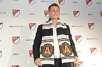 Philadelphia, PA - Thursday January 19, 2018: Gordon Wild during the 2018 MLS SuperDraft at the Pennsylvania Convention Center.