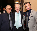 Richard Maltby Jr., David Shire and Claybourne Elder attends the Abingdon Theatre Company Gala honoring Donna Murphy on October 22, 2018 at the Edison Ballroom in New York City.