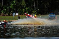 Frame 4: While chasing 13-V, 409-F goes up and over his roostertail. (runabouts)
