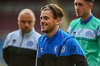 Rochdale forward Danny Cashman arrives at Turf Moor before the Carabao Cup match between Burnley and Rochdale at Turf Moor, Burnley, England on 21 September 2021. Photo by Sam Fielding / PRiME Media Images.