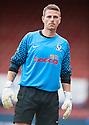 Ayr keeper David Hutton.