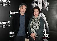 Kiyoshi KUROSAWA et sa femme Hiromi - Avant-premiere du film ' Le Secret de la Chambre Noire ' de Kiyoshi Kurosawa - La Cinematheque francaise 6 fevrier 2017 - Paris - France