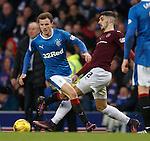 Andy Halliday skips past Callum Paterson