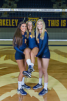 Berkeley, CA - Monday August 9, 2016: Cal Volleyball Portraits 2016