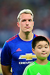 Manchester United defender Phil Jones during the International Champions Cup China 2016, match between Manchester United vs Borussia  Dortmund on 22 July 2016 held at the Shanghai Stadium in Shanghai, China. Photo by Marcio Machado / Power Sport Images
