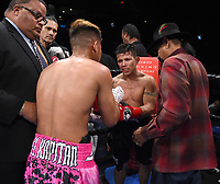 ONTARIO, CA - DECEMBER 21: Jhack Tepora v Oscar Escandon on the Fox Sports PBC Fight Night at Toyota Arena on December 21, 2019 in Ontario, California. (Photo by Frank Micelotta/Fox Sports/PictureGroup)