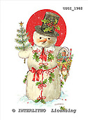 GIORDANO, CHRISTMAS SANTA, SNOWMAN, WEIHNACHTSMÄNNER, SCHNEEMÄNNER, PAPÁ NOEL, MUÑECOS DE NIEVE, paintings+++++,USGI1982,#X# stickers