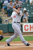 Texas Rangers Outfielder Josh Hamilton Minor League Rehab. Pacific Coast League Oklahoma City RedHawks against the Round Rock Express at Dell Diamond on May 10th 2009 in Round Rock, Texas. Photo by Andrew Woolley.