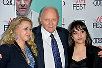"LOS ANGELES, USA. November 17, 2019: Sir Anthony Hopkins & guests at the gala screening for ""The Two Popes"" as part of the AFI Fest 2019 at the TCL Chinese Theatre.<br /> Picture: Paul Smith/Featureflash"